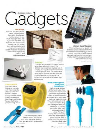 Flourish Magazine Gadgets October 2014
